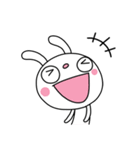 ふんわかウサギ25(思いやり編)(個別スタンプ:12)