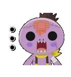 ゾゾゾ ゾンビーくん(個別スタンプ:21)