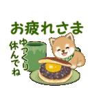 よちよち豆柴 秋の毎日(個別スタンプ:9)