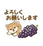 よちよち豆柴 秋の毎日(個別スタンプ:34)