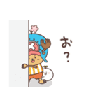 【ONE PIECE】with まるいやつら。(個別スタンプ:6)