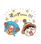 【ONE PIECE】with まるいやつら。(個別スタンプ:11)