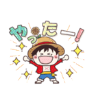 【ONE PIECE】with まるいやつら。(個別スタンプ:21)