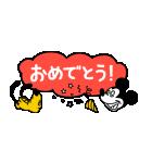 ミッキー&プルート 小さめスタンプ(個別スタンプ:09)
