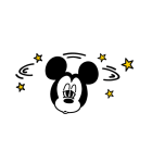 ミッキー&プルート 小さめスタンプ(個別スタンプ:31)