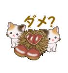 三毛猫ツインズ おいしい毎日(個別スタンプ:23)