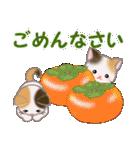 三毛猫ツインズ おいしい毎日(個別スタンプ:28)