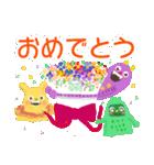 カラフルモンスターMAKA☆RONのきもち(個別スタンプ:34)