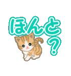 ちび猫 よく使うでか文字(個別スタンプ:24)