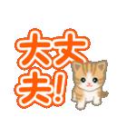 ちび猫 よく使うでか文字(個別スタンプ:26)