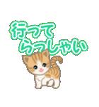 ちび猫 でか文字敬語(個別スタンプ:37)