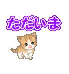 ちび猫 でか文字敬語(個別スタンプ:39)