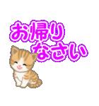 ちび猫 でか文字敬語(個別スタンプ:40)