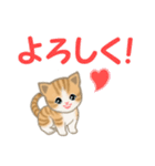 ちび猫 家族連絡(個別スタンプ:13)