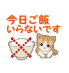 ちび猫 家族連絡(個別スタンプ:31)