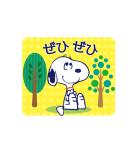 スヌーピー大人可愛いアニメスタンプ(個別スタンプ:13)
