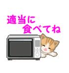 ちび猫 家族連絡2(個別スタンプ:19)