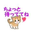 ちび猫 家族連絡2(個別スタンプ:29)