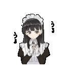 がんばる!メイドちゃんスタンプ(個別スタンプ:09)