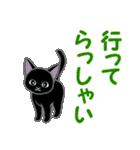 黒猫くろまる 毎日使う言葉(個別スタンプ:37)