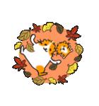 秋 冬 ハロウィン クリスマス のモルモット(個別スタンプ:8)