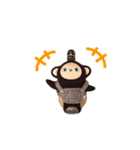 火曜ドラマ「カネ恋」第2弾 猿彦&猿之助(個別スタンプ:04)