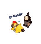 火曜ドラマ「カネ恋」第2弾 猿彦&猿之助(個別スタンプ:16)