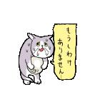 動くぞ!仕事猫(個別スタンプ:16)