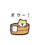 ゆる柴犬スタンプ13・ダジャレ(個別スタンプ:07)