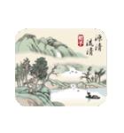古風画(日本語版)(個別スタンプ:02)