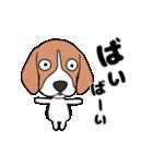 超元気なビーグル犬(個別スタンプ:8)
