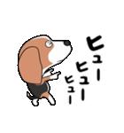 超元気なビーグル犬(個別スタンプ:18)