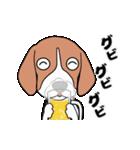 超元気なビーグル犬(個別スタンプ:23)