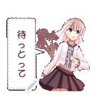 花絵少女(個別スタンプ:02)