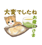 ちび猫 優しい冬(個別スタンプ:12)