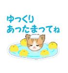 ちび猫 優しい冬(個別スタンプ:29)