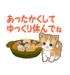ちび猫 優しい冬(個別スタンプ:30)