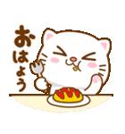 猫カオマニー眼2色(セット2)(個別スタンプ:1)