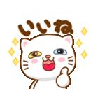 猫カオマニー眼2色(セット2)(個別スタンプ:11)