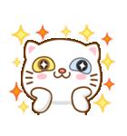 猫カオマニー眼2色(セット2)(個別スタンプ:16)