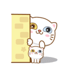 猫カオマニー眼2色(セット2)(個別スタンプ:17)