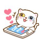 猫カオマニー眼2色(セット2)(個別スタンプ:21)