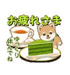 よちよち豆柴 優しい冬(個別スタンプ:9)