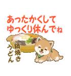 よちよち豆柴 優しい冬(個別スタンプ:30)