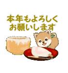 よちよち豆柴 優しい冬(個別スタンプ:39)