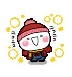 冬の寒さに♡やさしい大人のスタンプ 2021(個別スタンプ:34)