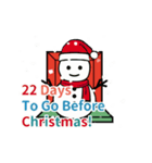 クリスマス前に♪アドベントカレンダー(個別スタンプ:3)