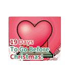 クリスマス前に♪アドベントカレンダー(個別スタンプ:6)