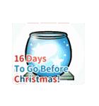 クリスマス前に♪アドベントカレンダー(個別スタンプ:9)