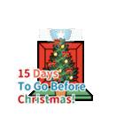 クリスマス前に♪アドベントカレンダー(個別スタンプ:10)